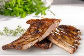 BBQ Pork ribs — Stock Photo
