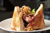 Two club sandwich — Stock Photo