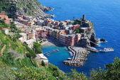 View over the Cinque Terre village — Stock Photo