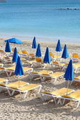 Beach of Mediterranean Sea — Stock Photo
