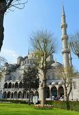 A mesquita azul, (sultanahmet camii) — Fotografia Stock