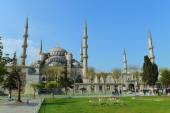 The Blue Mosque, (Sultanahmet Camii) — Stock Photo