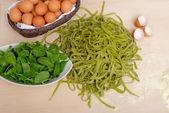 Traditional italian homemade pasta — Stock Photo