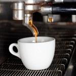 Espresso machine brewing a coffee — Stock Photo #65702893