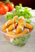 Fast food chicken salad — Stock Photo