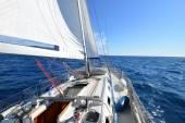 Sailing yacht — Stock Photo