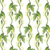 Cucumber pattern — Stock Vector