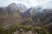 Mountains of North Ossetia — Stock Photo