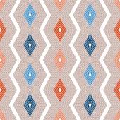 Seamless geometric pattern - rhombus — Stock Vector