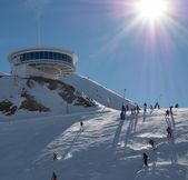 Andorra - Skiing — Fotografia Stock