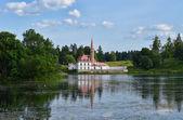 Priory palace.Gatchina. — Stock Photo