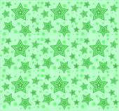 Vector pattern with stars — Stock Vector
