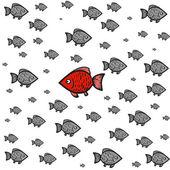 Fish rebel — Vecteur