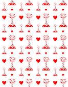 Drug of love pattern — Wektor stockowy
