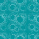 Circles wave abstraction — Vector de stock