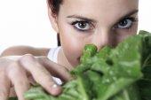Eye Salad Holding — Photo