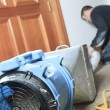 A Ventilation cleaner working on a air system. — Stock Photo #65232137