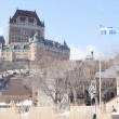 Chateau Frontenac in winter, Quebec City, Quebec, Canada — Stock Photo #65385011