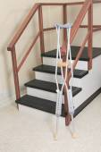 A physiotherapist room with staircase — Stockfoto