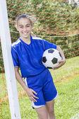 Teen Youth Soccer — Foto de Stock