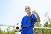 Teen Youth Soccer  — Fotografia Stock