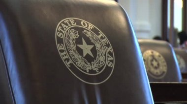 Texas State Capitol Congress — Stock Video