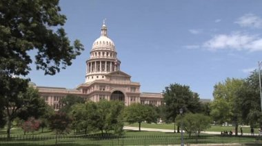 Texas State Capitol Exterior — Stock Video