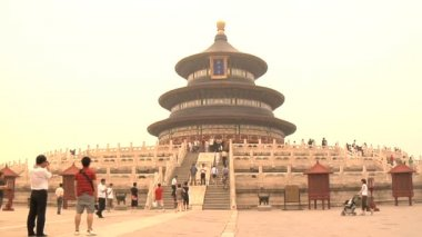 Temple of Heaven in Beijing, China — Stock Video
