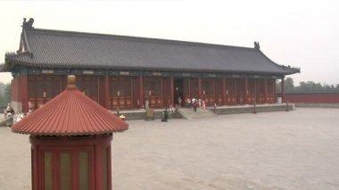 北京、中国で天の寺院 — ストックビデオ