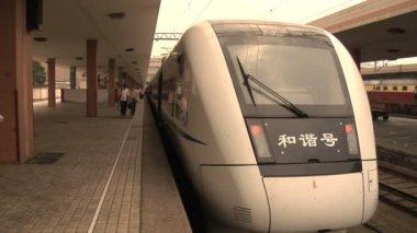 HangZhouTrainStation in China — Vidéo