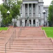 Colorado State Capitol Building Exterior in Denver — Stock Video #57076093