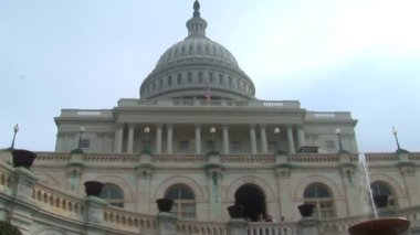 United States Capitol Building in Washington DC — Stock Video