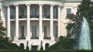 White House in Washginton DC — ストックビデオ
