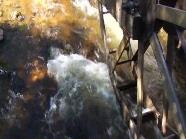 WaterMillandRiverinEstesPark Colorado — Video Stock