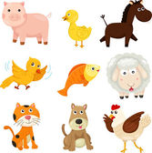 Illustrator of farm animal — Stock Vector