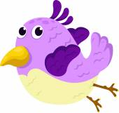 Illustrator of bird — Stock Vector