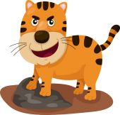 Illustrator of tiger — Stock Vector