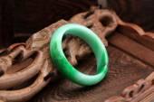 Chinese jade bracelet features — ストック写真