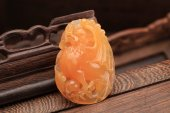 Jade pendant with Chinese characteristics — 图库照片
