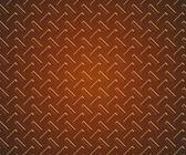 Texture of chrome diamond steel floor for background — Foto Stock