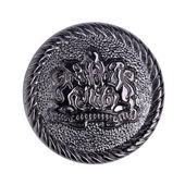 Vintage metal dikiş düğmeleri koleksiyonu — Stok fotoğraf