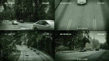 CCTV Road Cameras — Stock Video