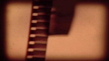Film Reel Startup Intro — Stock Video