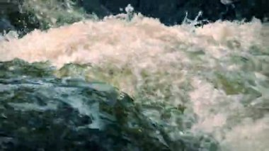 Churning River — Stock Video