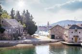 Old town of Hvar Island — Stock Photo