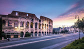 Colosseum in the morning — Stock Photo