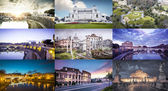 Tourist attractions in Rome — Stock Photo
