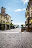 Lazise village at Garda Lake — Стоковое фото