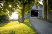 Beautiful farm in Switzerland — Стоковое фото