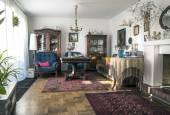 Stylish sitting room — Stock Photo